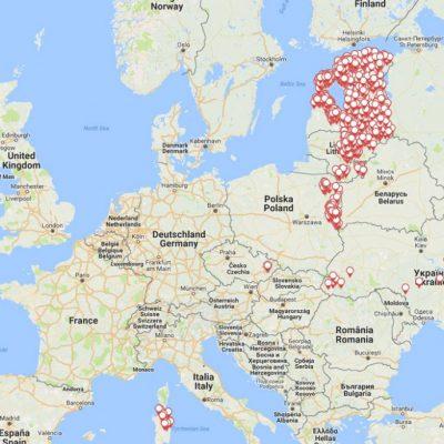 afrikanische schweinepest karte Afrikanische Schweinepest in Tschechien   JAGDFAKTEN Österreich