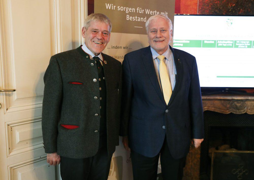 Präsentation Wirtschaftsleistung der Jagd in Österreich 2017