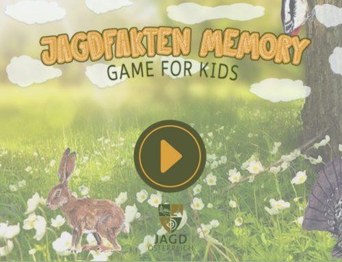 Das Jagdfakten Memory-Spiel ist online!
