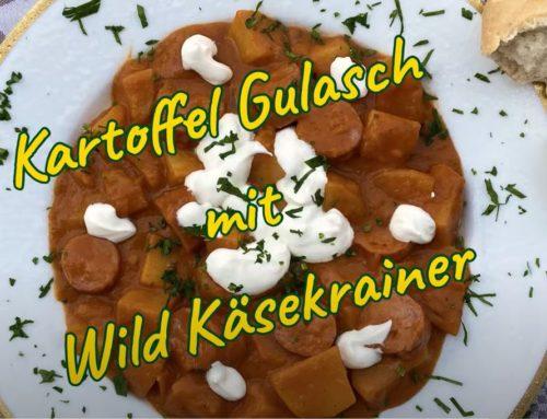 kathi's table: Kartoffel Gulasch mit Wild-Käsekrainer