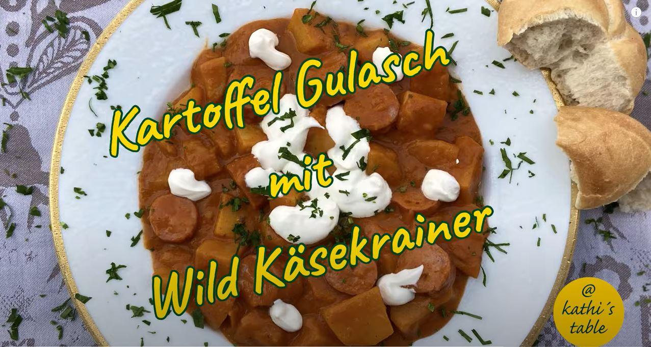 Gulasch mit Wild-Käsekrainer, Jagdfakten.at