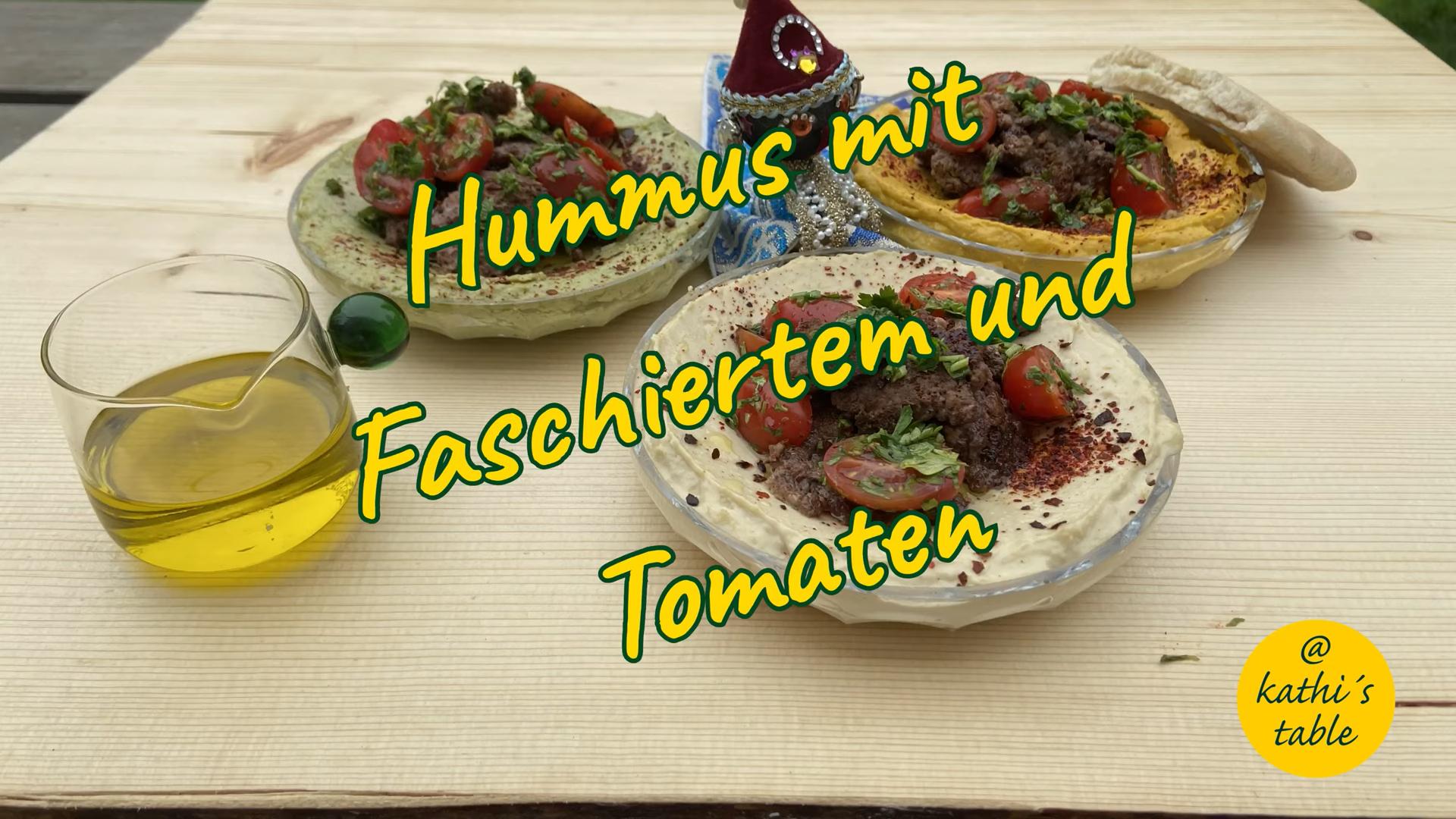 Hummus mit Hackfleisch vom Wildbret, Jagdfakten.at