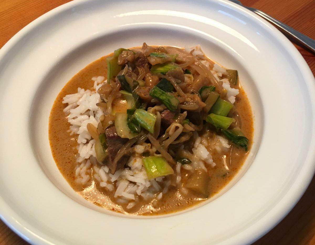 Thai Feldhasen-Curry, Rezept von Dr. Elena Huber, Jagdfakten.at