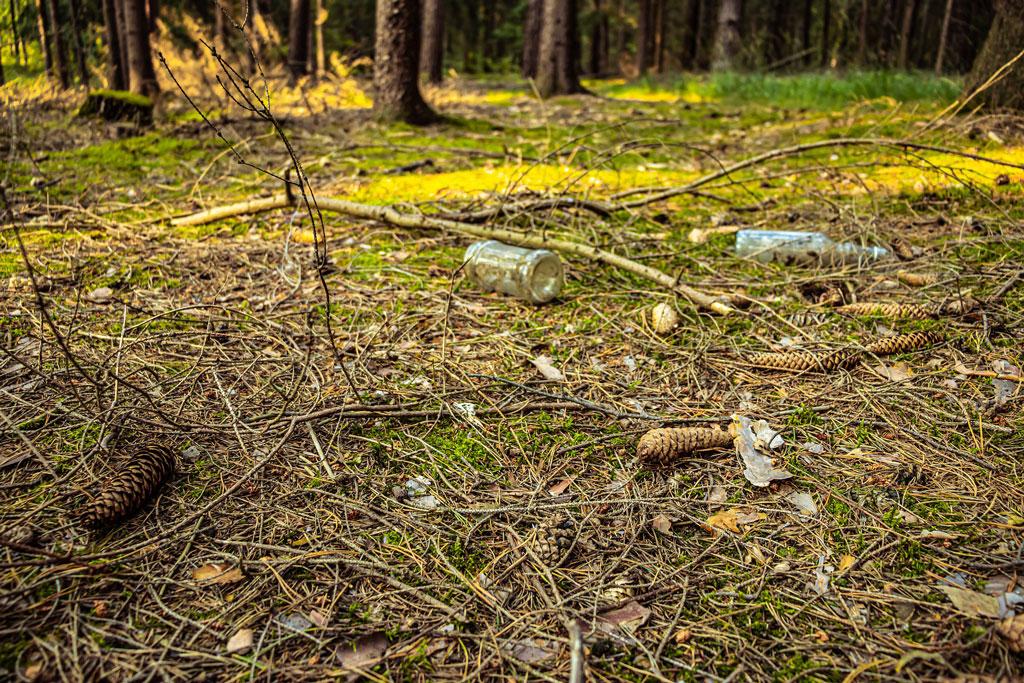 Müll - Gefahr für Wildtiere, Jagdfakten.at informiert